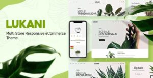 Lukani Plant Store Theme for WooCommerce WordPressLukani Plant Store Theme for WooCommerce WordPress