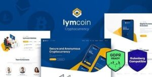 v.1.3.1.1 Lymcoin – Cryptocurrency & ICO WordPress Theme Nulled