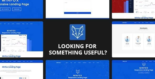 Minfox Software Landing Page v1.4.8 Nulled