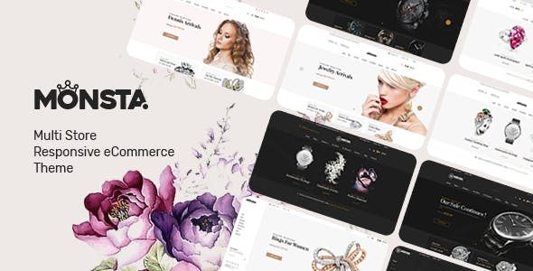v.1.1.0 Monsta – Jewelry Theme for WooCommerce WordPress Nulled