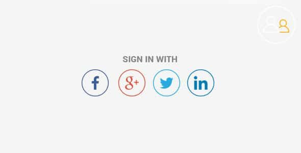 Profile Builder – Social Connect Add On