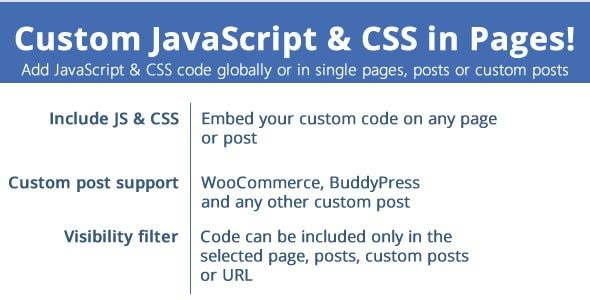 v.3.2 Custom JavaScript & CSS in Pages Nulled