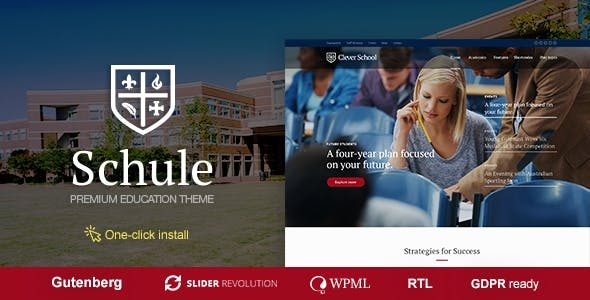 Schule Theme Nulled v1.1.2