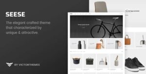 v2.9 Seese – Responsive eCommerce Theme Nulled