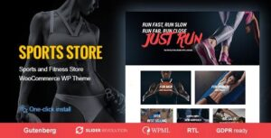 v1.1.2 Sports Store – Sports Clothes & Fitness Equipment Store WP Theme Download