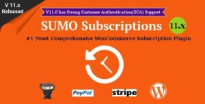 v12.5 SUMO Subscriptions – WooCommerce Subscription System Nulled