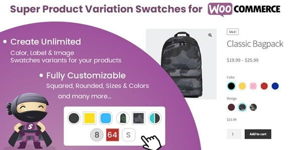 Super Product Variation Swatches for WooCommerce