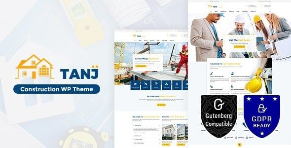 Tanj v2.0 Construction Architecture, Construction Theme Nulled