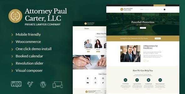 The Law A Classic Legal Advisers & Attorneys WordPress Theme
