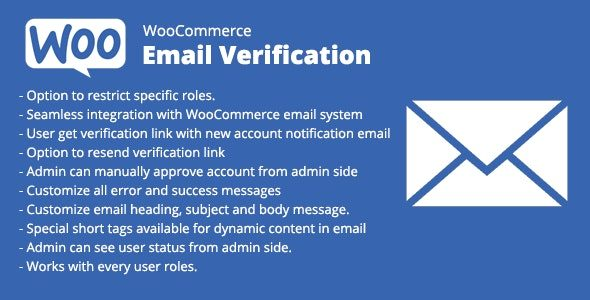 v.2.0.7 Email Verification for WooCommerce By WPFactory Nulled