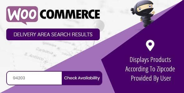 WooCommerce Products by Delivery Area v1.0.1 Nulled
