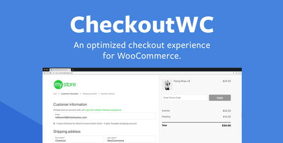 CheckoutWC – Checkout for Woocommerce v5.0.4 Nulled