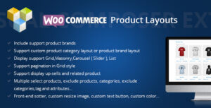 DHWCLayout – Woocommerce Products Layouts v3.1.16 Nulled