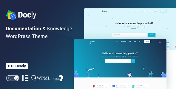 Docly Theme v1.4.9 Nulled
