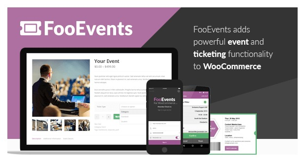 FooEvents for WooCommerce v1.12.36 Nulled + Addons
