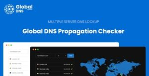 Global DNS – Multiple Server – DNS Propagation Checker Nulled v1.4.0