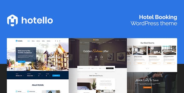 Hotello v1.3.6 Nulled – Hotel Booking WordPress Theme