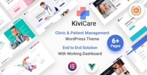 KiviCare v1.4.1 Nulled – Medical Clinic & Patient Management WordPress Theme