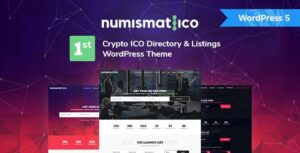 Numismatico v1.8 Nulled – Cryptocurrency Directory & Listings WordPress Theme