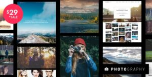 Photography – Responsive Photography WordPress Theme v7.0.1 Nulled