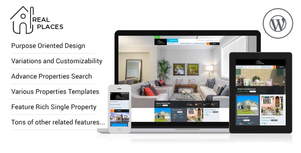 RealPlaces – Estate Sale and Rental WordPress Theme v1.9.1 Nulled