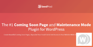 SeedPro Comming Soon Pro – WordPress Plugin v6.4.3 Nulled