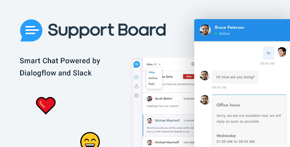 Support Board – WordPress Chat Plugin v3.2.8 Nulled