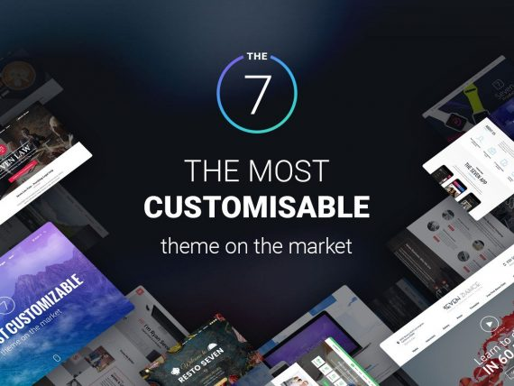 The7 – Multi-Purpose Website Building Toolkit for WordPress v9.11.0 Nulled