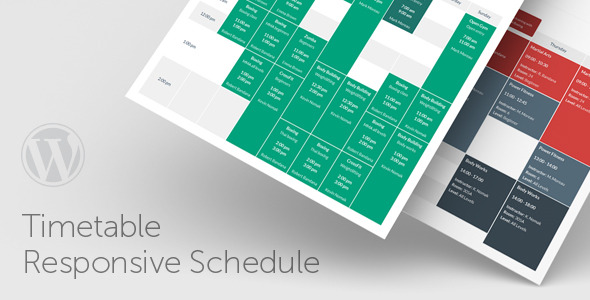 Timetable – Responsive Schedule For WordPress v6.7 Nulled