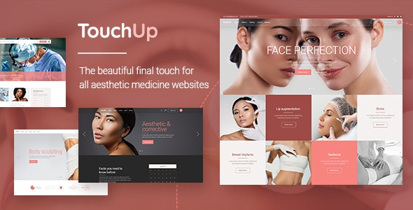 TouchUp v1.2 Nulled – Cosmetic and Plastic Surgery Theme