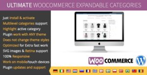 Ultimate WooCommerce Expandable Categories v1.2.1 Nulled