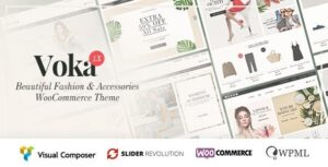 Voka v2.1.9 Nulled – Fashion Cosmetic & Accessories WooCommerce Theme