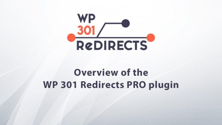 WP 301 Redirects – Instantly Fix Most Overlooked SEO Errors Pro v5.74 Nulled