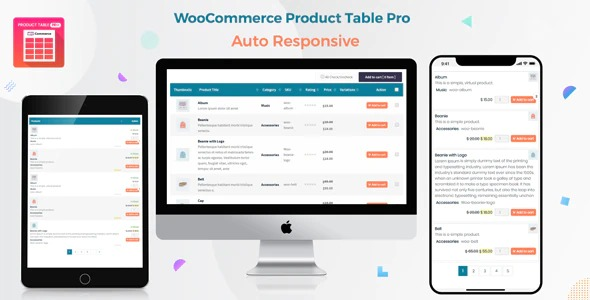 Woo Product Table Pro – WooCommerce Product Table v7.0.7 Nulled