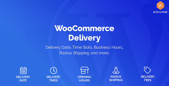 WooCommerce Delivery – Delivery Date & Time Slots v1.1.23 Nulled