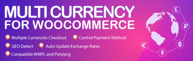 WooCommerce Multiple Currencies v5.2 Nulled