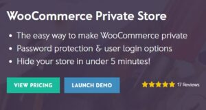 WooCommerce Private Store v1.6.4 Nulled
