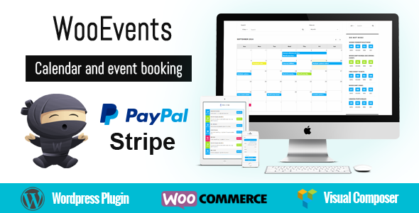 WooEvents – Calendar and Event Booking Plugin v3.6.6 Nulled