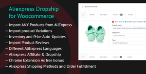 AliExpress Dropshipping Business plugin for WooCommerce v1.16.9 Nulled