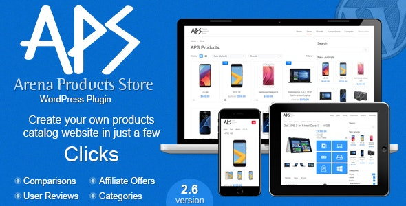 Arena Products Store v2.7.1 Nulled – WordPress Plugin