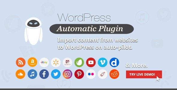 WordPress Automatic Plugin v3.53.5 Nulled