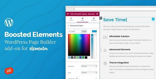 Boosted Elements v4.9 Nulled – Add-on for Elementor