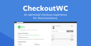 CheckoutWC v5.3.0 Nulled – Checkout for Woocommerce