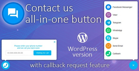 All in One Support Button v.2.1.0 Nulled