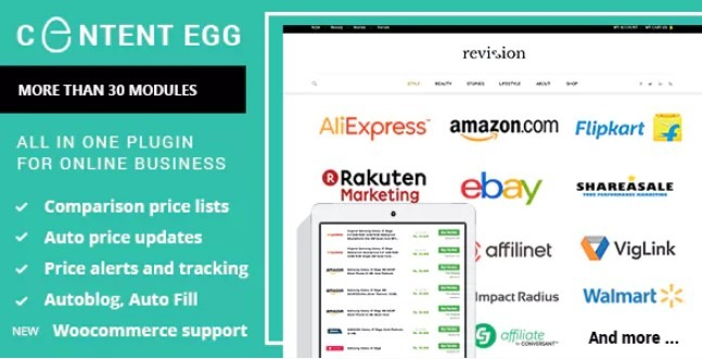 Content Egg v9.0.1 Nulled – All In One Plugin For Affiliate
