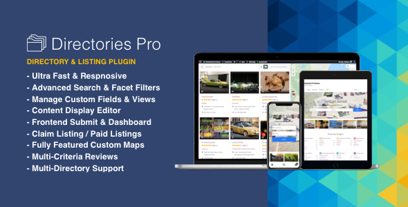 Directories Pro v1.3.83 Nulled (plugin for WordPress)