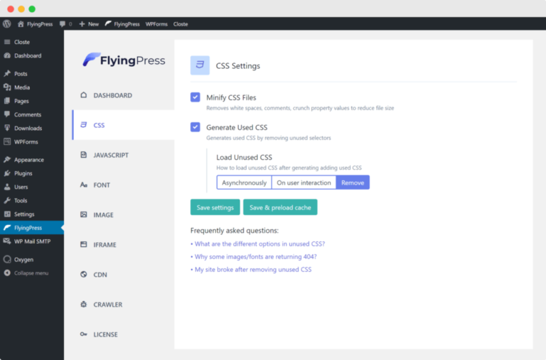 FlyingPress v3.6.1 Nulled (Taking WordPress To New Heights)