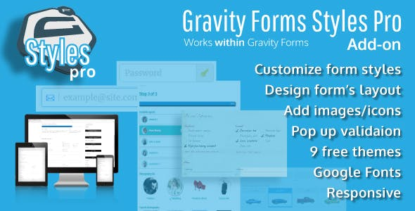 Gravity Forms Styles Pro Add-on v2.7.4 Nulled