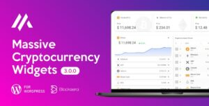 Massive Cryptocurrency Widgets – Crypto Plugin v3.1.9 Nulled