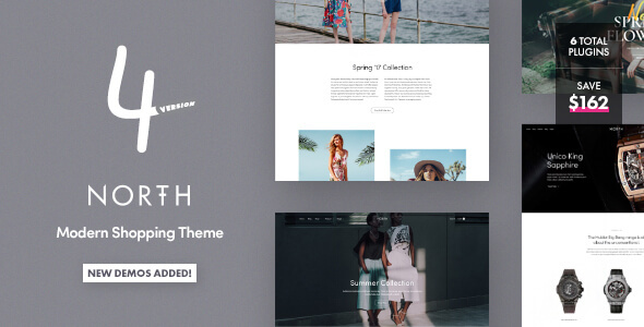 North v5.7.3 Nulled – Responsive WooCommerce Theme